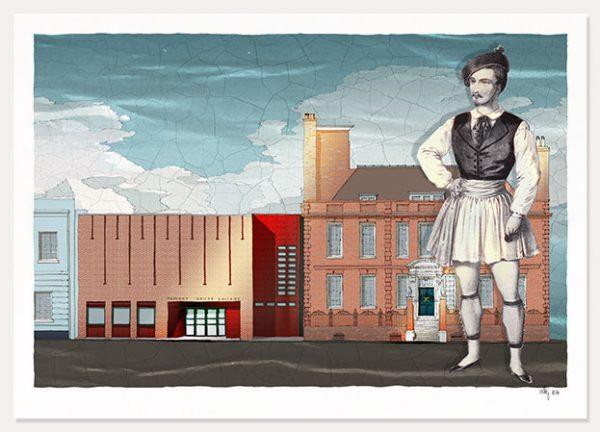 art print titled Pallant House Gallery Arthur Saint-Leon in Le Lutin de la Vallee Clouds 1853 by artist alej ez
