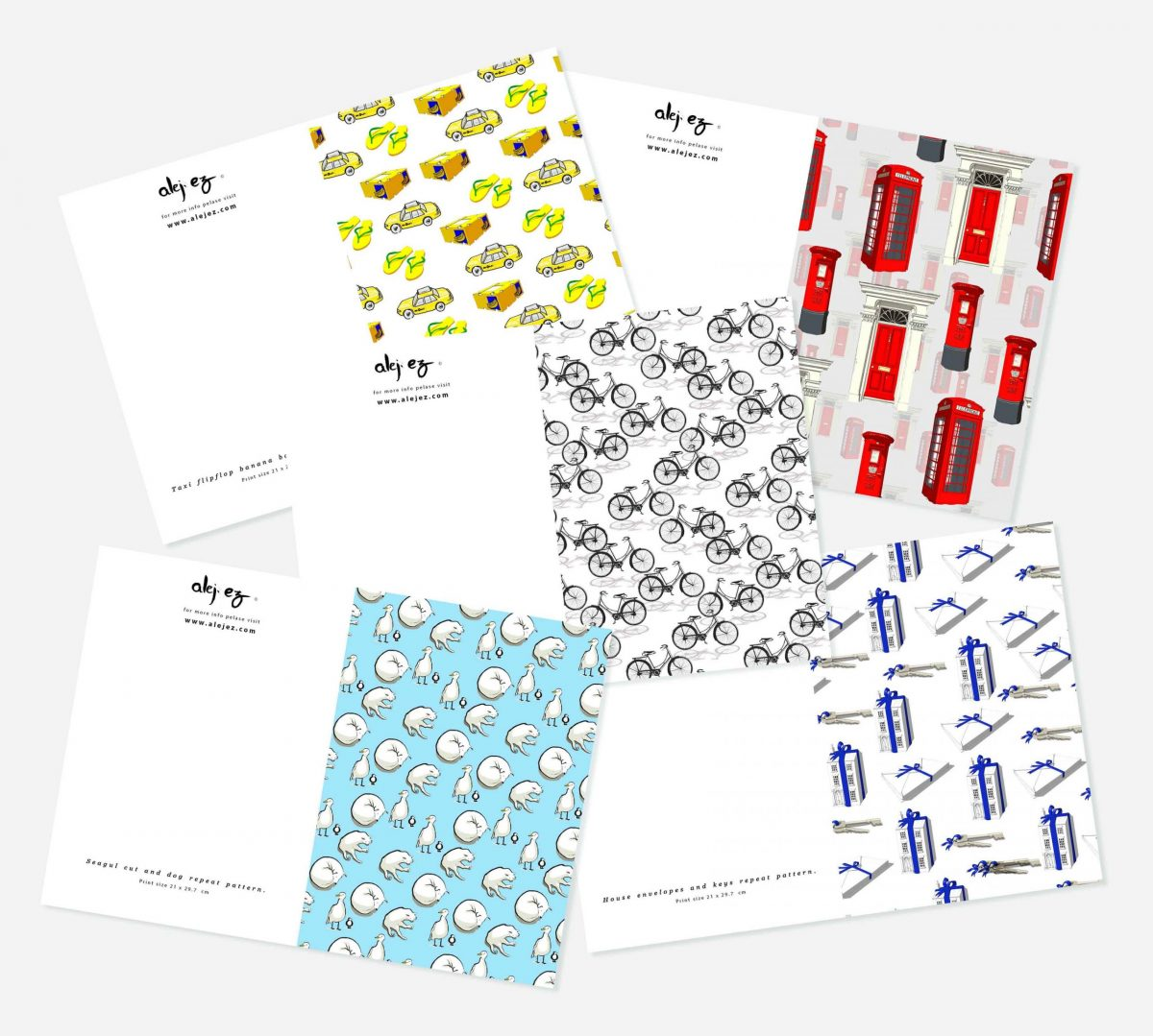 Greeting cards set notelets notecards blank cards card pack card bundle