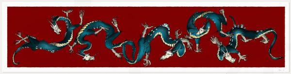 print named Dragons Roll Alej Ro by artist alej ez