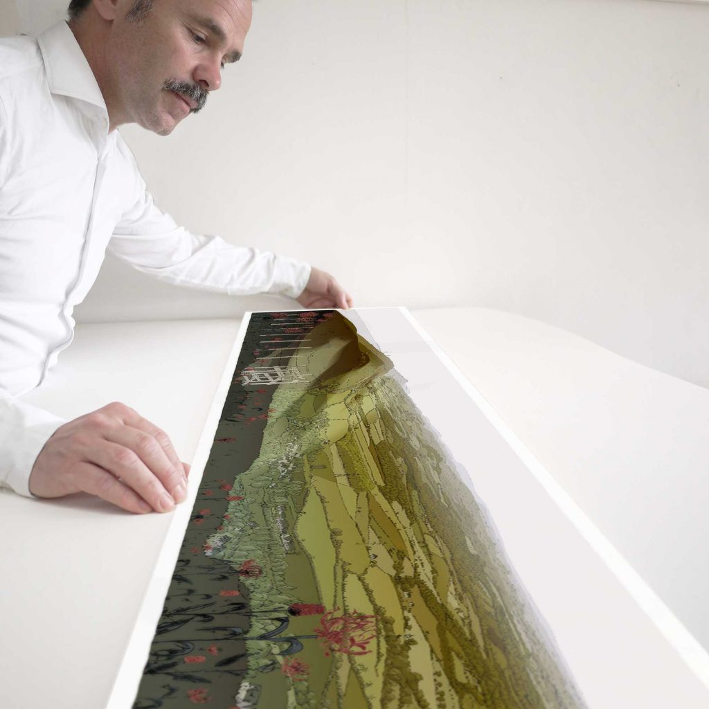 Devils Dyke Walk Season Fall fine art print inspection