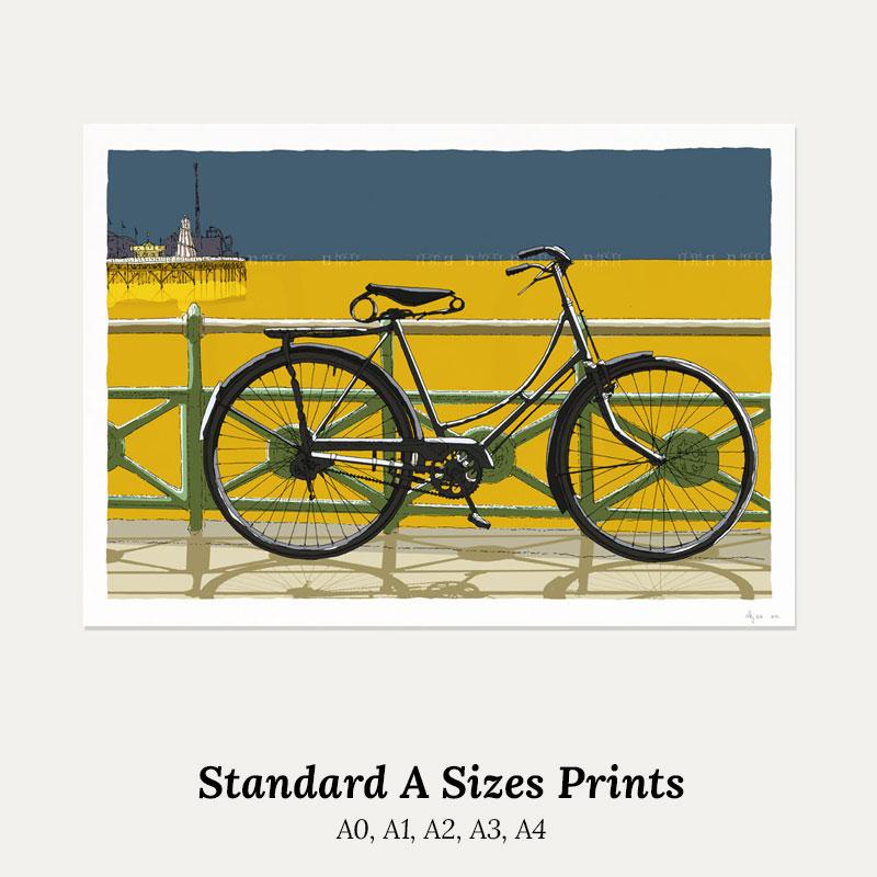 A size print. Standard A0, A1, A2, A3, A4 by artist alej ez