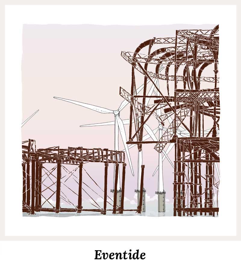 Eventide - Art Prints by Colour by artist alej ez