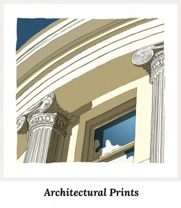 Architectural Art Prints Collection