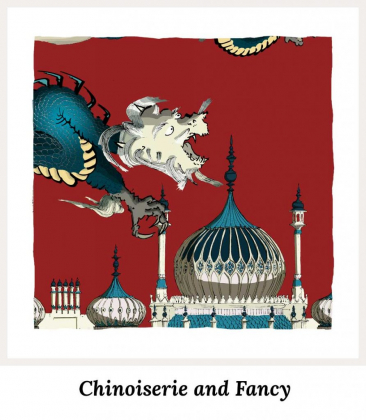 Art Prints by artist alej ez. Series Chinoiserie