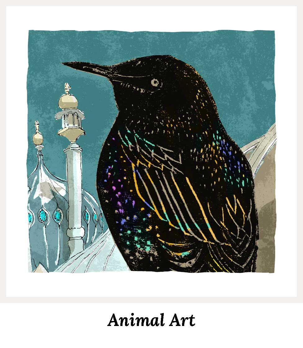 Animal Art Prints Collection