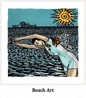 Beach Art Prints Collection