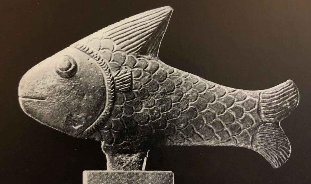 Fish. Bronze. Ptolemaic Period, c.300 B.C. Roemer-Pelizaeus Museum, Holdesheim